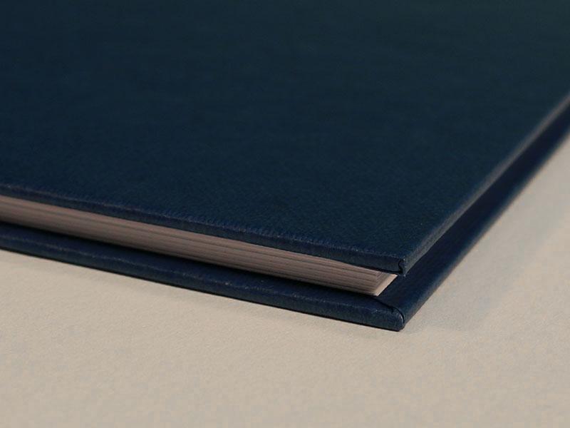 Buchbindung Kunstleder Ecken