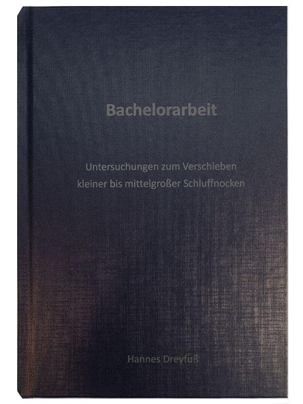 Hardcover Karton dunkelblau