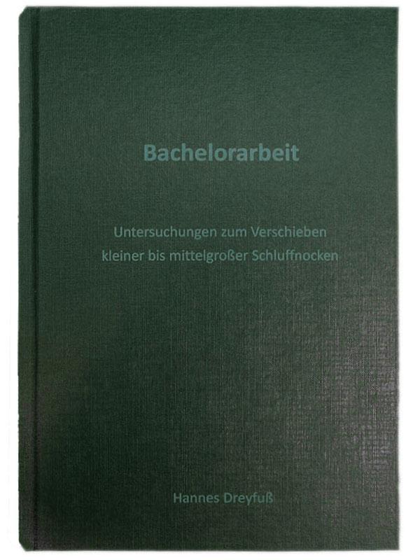 Hardcover Karton grün