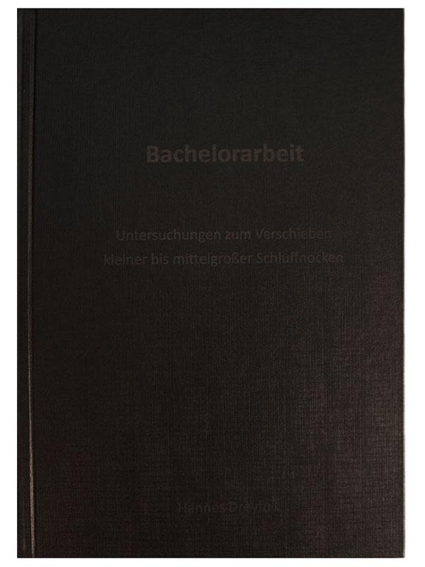 Hardcover Karton schwarz