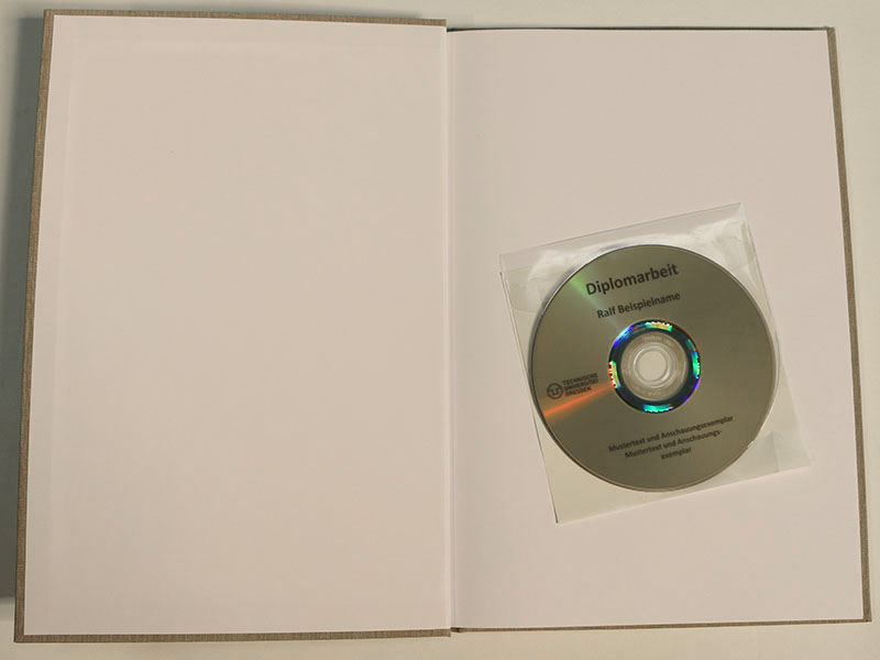 LightScribe CD DVD mit Hülle
